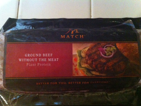 Match meat