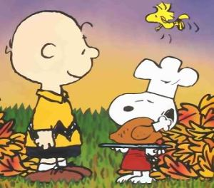 Charlie Brown and Snoopy!