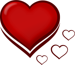 pixabella-Red-Stylised-Heart-with-Smaller-Hearts